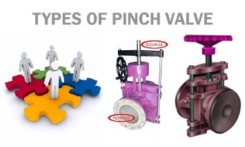 types of Pinch valves