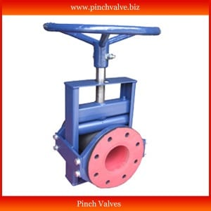 pinch Valve, Manual pinch Valve. Open Body Pinch Valve