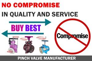 pinch valve india manufacturer